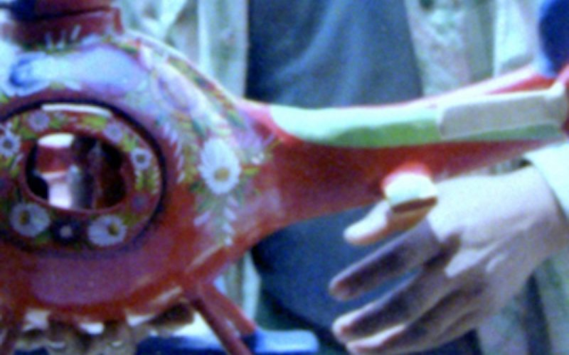 Concurso de lacas en Olinalá